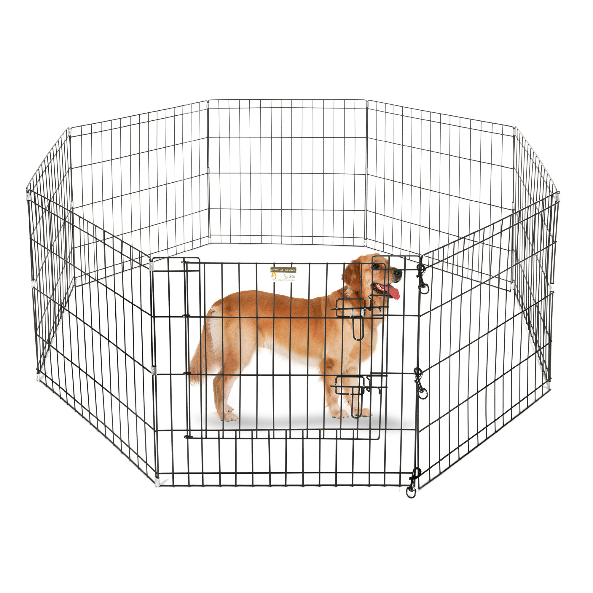 Pet Trex Playpen for Dogs Eight High Panels 24