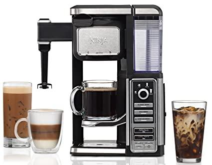 .com: ninja single-serve, pod-free coffee maker bar with  ...
