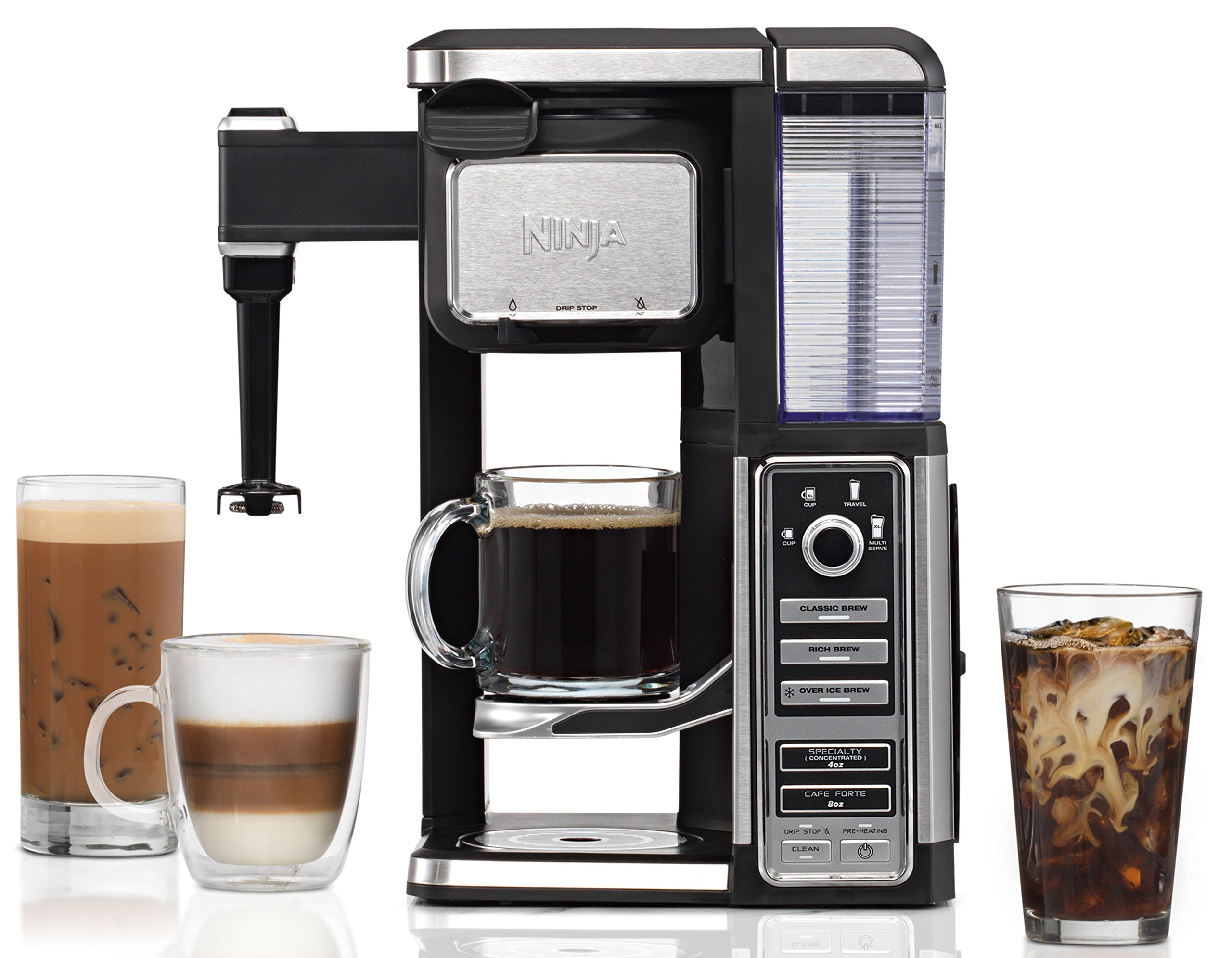 Ninja Coffee Bar Single-Serve System with Built-In Frother (CF112) by SharkNinja (Image #1)