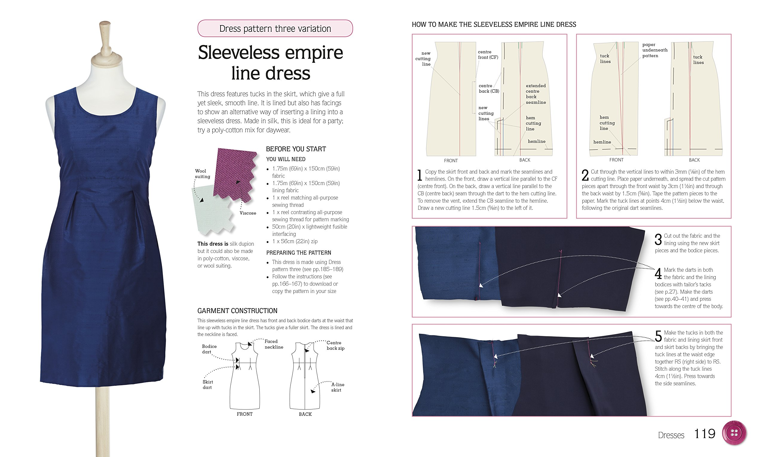 Dressmaking Step by Step: Classic Patterns and Essential Techniques ...