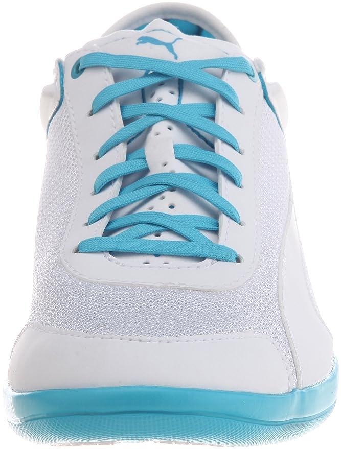 PUMA driving Potencia Low zapatillas de deporte zapatillas de malla ligeras de entrenamiento de ocio colour blanco/azul, color blanco, talla 43