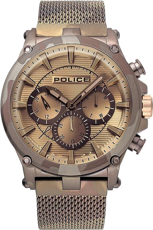 Police orologio elegante pl15920jsmbn.20mm