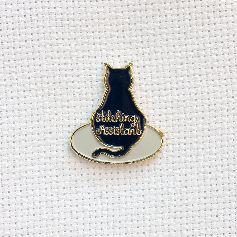 Cat Magnet Cat Needle Minder Enamel Needle Minder