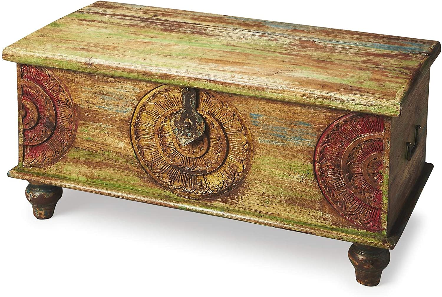 - Amazon.com: BUTLER MESA CARVED WOOD TRUNK COFFEE TABLE: Kitchen