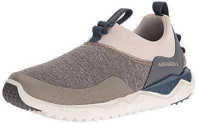 Merrell Men's 1SIX8 Moc Slip-On Shoe, Aluminum, ...