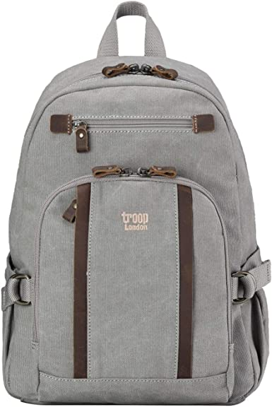 Medium TRP0256 Troop London Classic Canvas Backpack