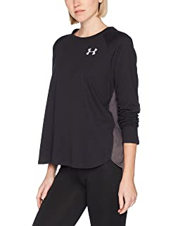 wholesale dealer 60800 0dbbf Under Armour Women s Armor Charged Cotton Tri-Blend Graphic Long sleeve