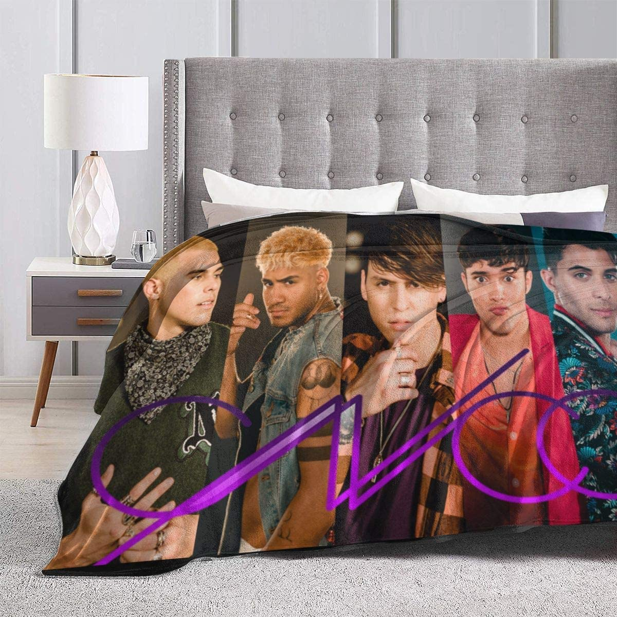 Hengtaichang Cnco Blanket Soft Blanket Microfiber Blanket Flannel Fleece Throw Blanket for Bed Couch Chair Fall Winter Spring Living Room 50x40