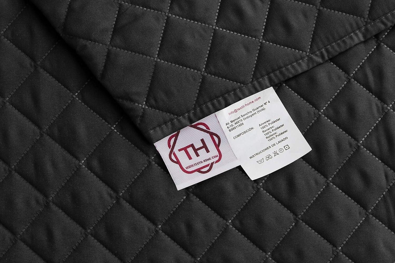 Textilhome - Funda Cubre Sofá Malu, 4 Plazas, Protector para ...
