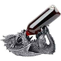 Nemesis Now Guzzlers Dragon Sculptures black-silver
