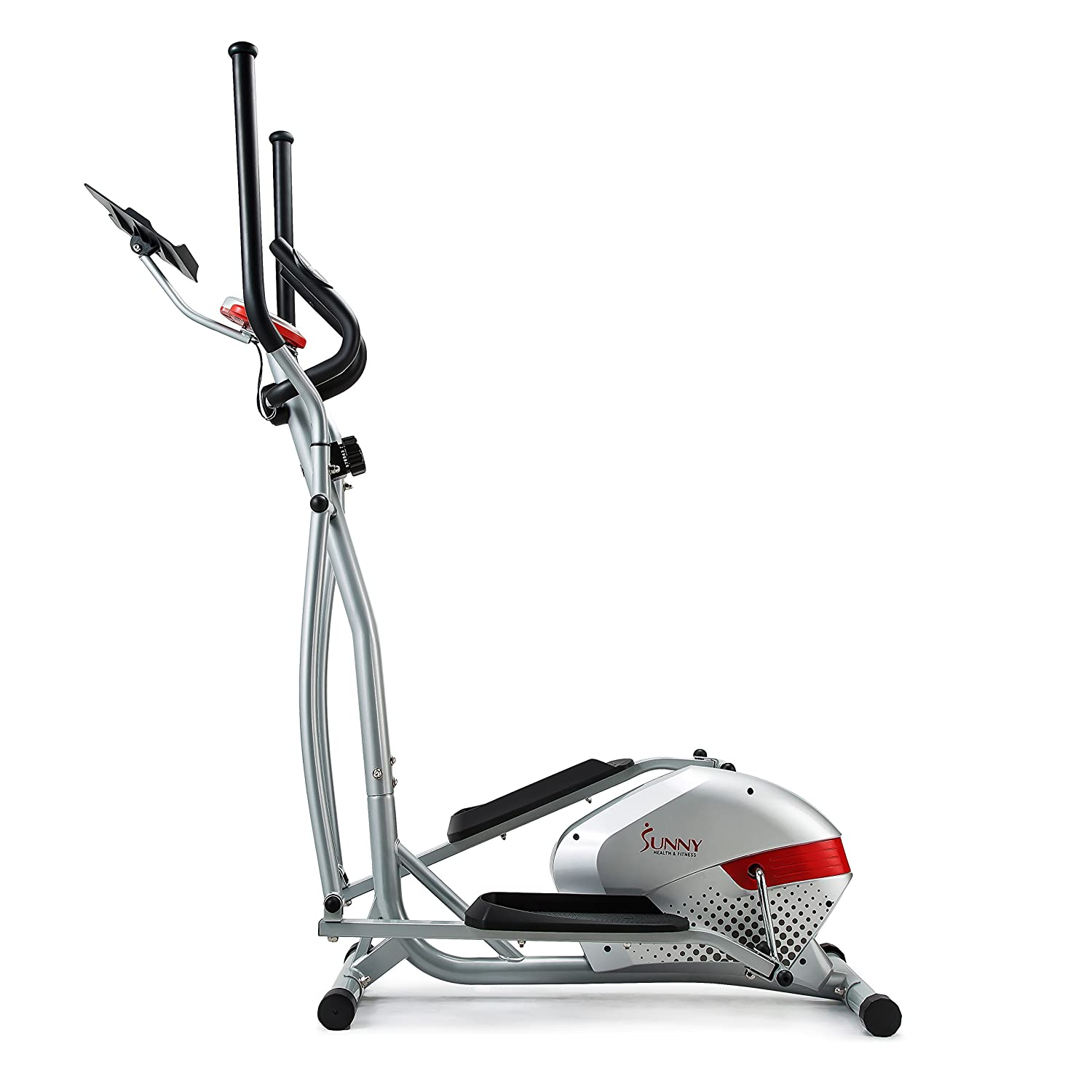 sunny health fitness elliptical trainer with tablet