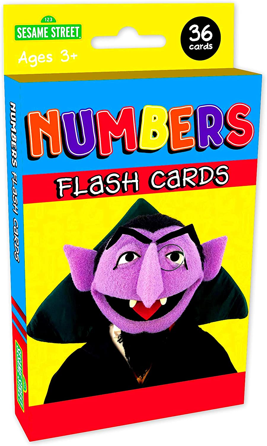 Amazon Com Kappa Sesame Street Numbers Flash Cards Toys Games