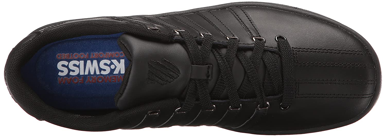 K-Swiss Women's Court Pro II CMF Athletic Shoe B0115HNRU6 9.5 M US|Black/Gunmetal