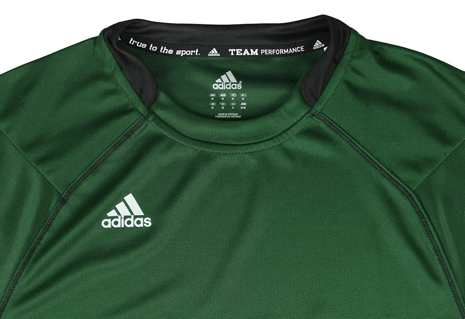 28f02dc51 adidas Mens Climalite Team Performance Athletic T-Shirt at Amazon Men's  Clothing store: