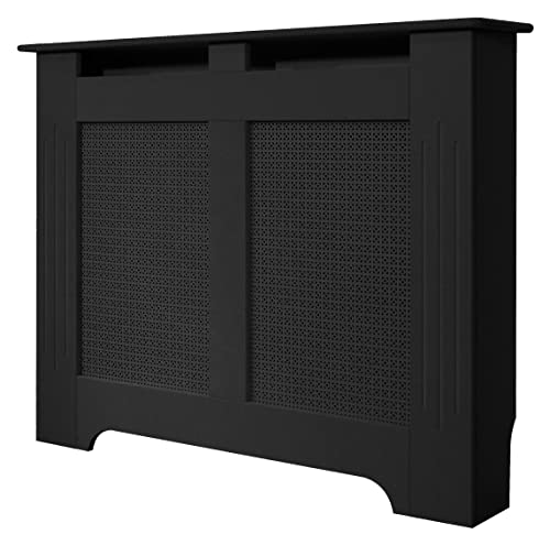 the vitreo black glass radiator cover large 1600 mm. Black Bedroom Furniture Sets. Home Design Ideas