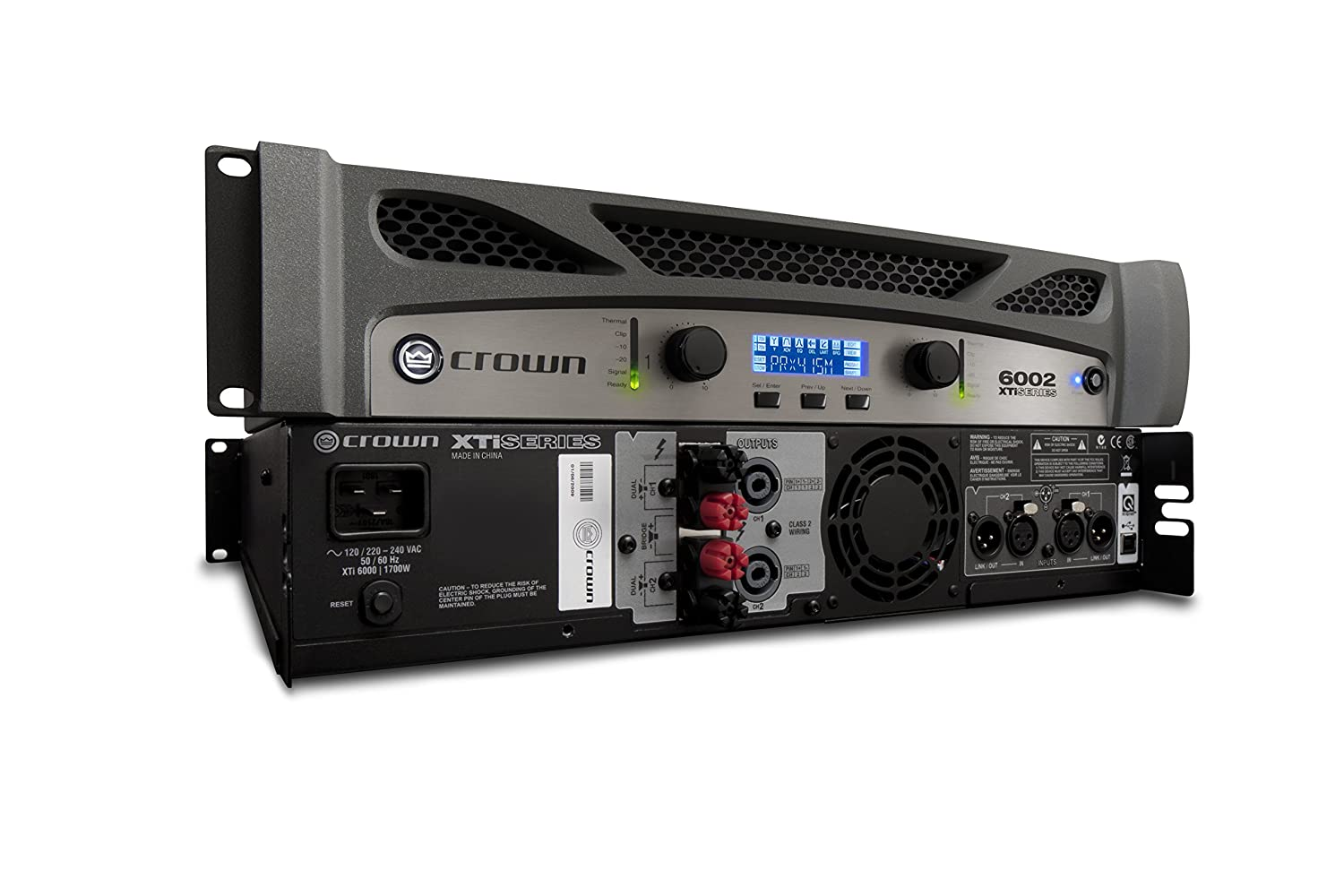 Amazon.com: Crown XTi6002 Two-channel, 2100W at 4Ω Power Amplifier: Musical  Instruments