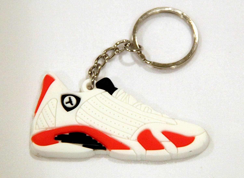 huge discount fd4b3 d7eac Amazon.com: Air Jordan 14 XIV AJ14 Retro White Varsity Red ...