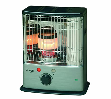Zibro mecha quemador portátil calentador de parafina R18E ideal para hogares, garajes, cobertizos,