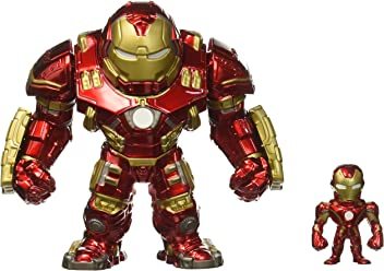 "Jada Marvel Avengers: Age of Ultron - 6"" Hulkbuster & 2"" Iron Man (M132) Metals Die-cast collectible toy figure"