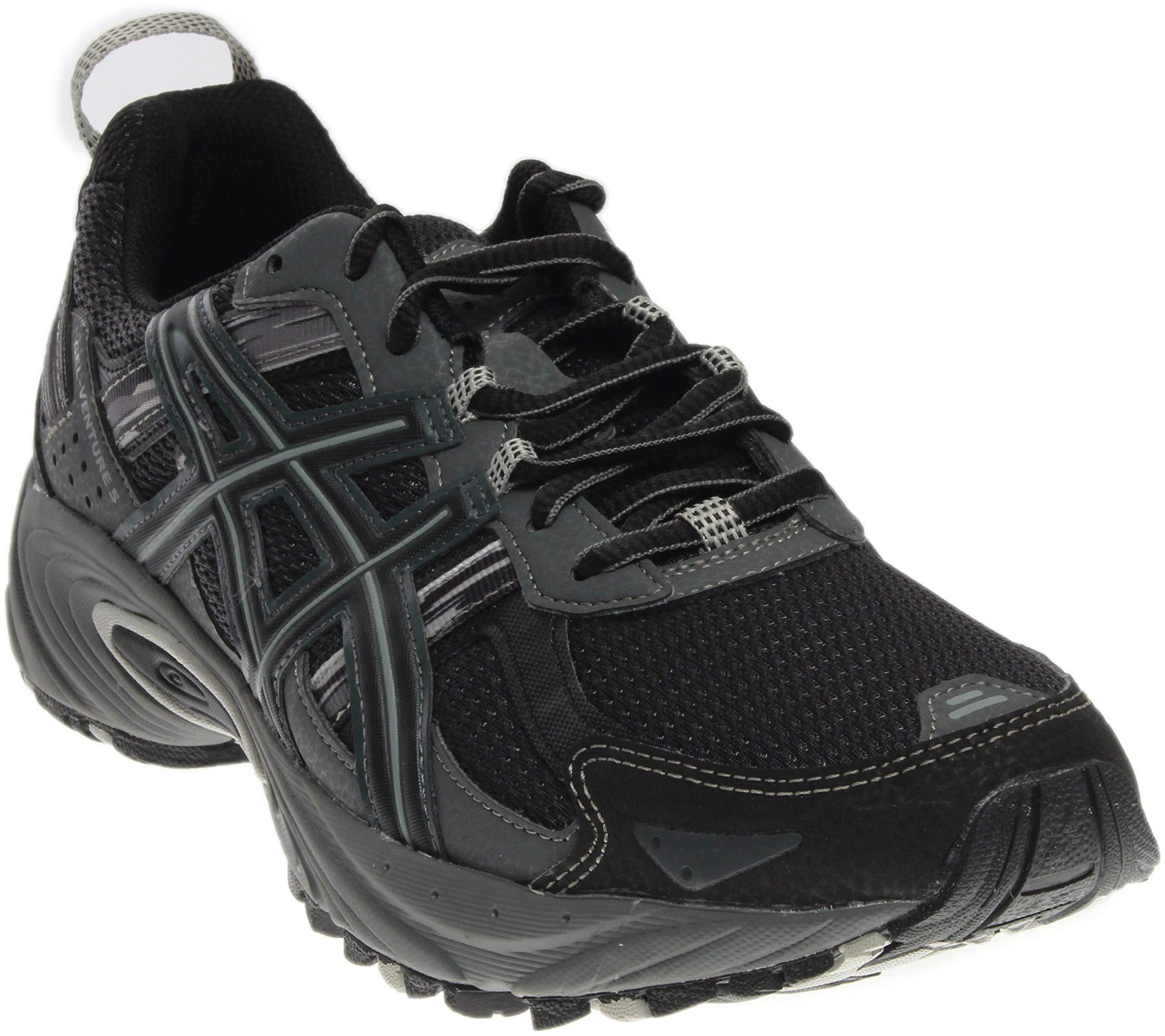 ASICS Men's Gel-Venture 5-M, Black/Onyx/Charcoal, 7 M US