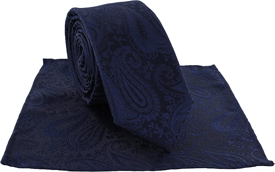 Michelsons UK Paisley Silk Handkerchiefs