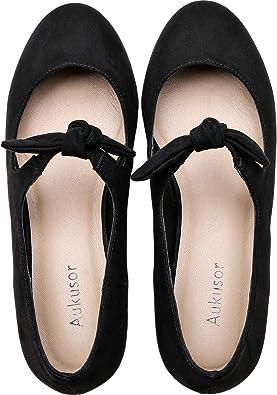 Women's Wide Width Flat Shoes