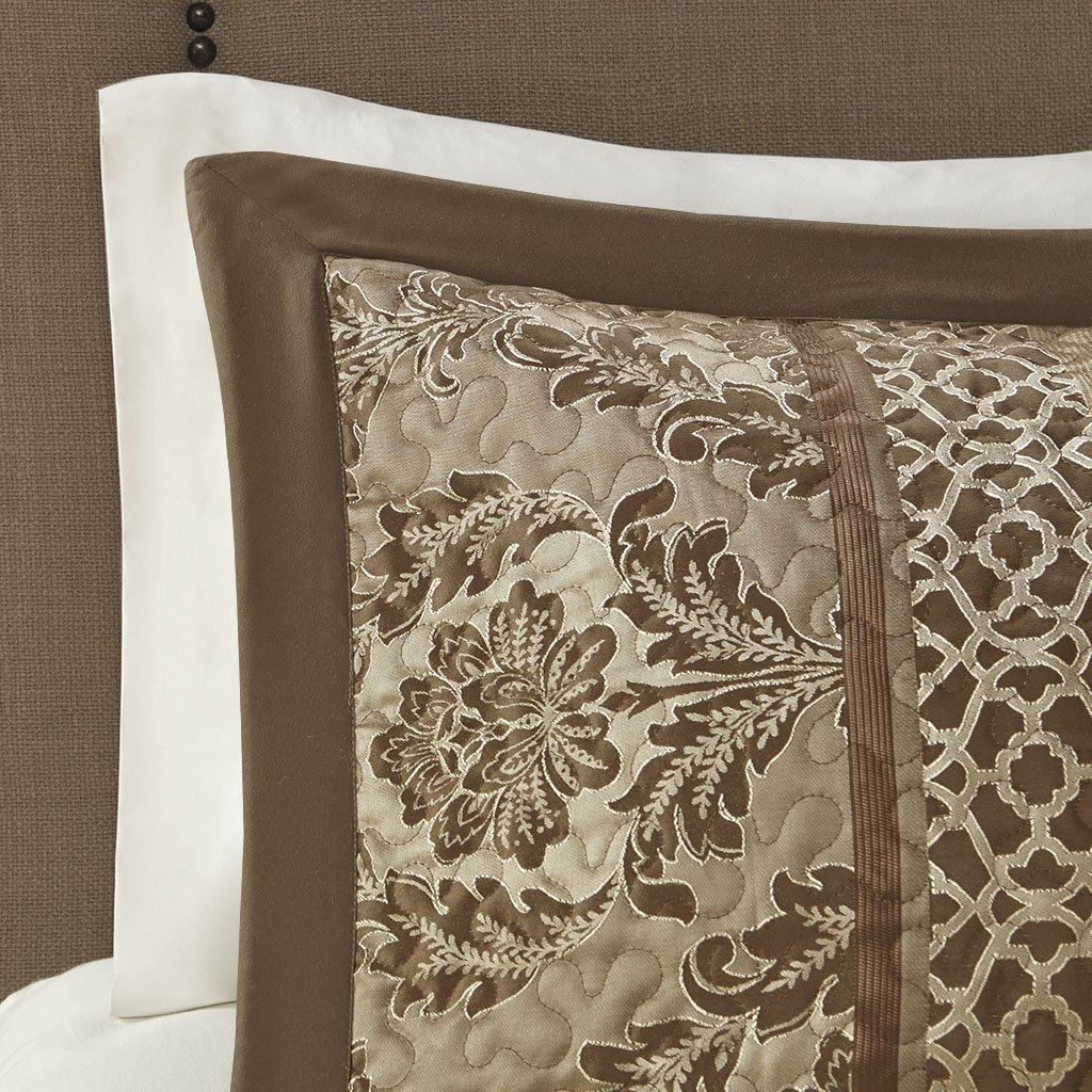 Madison Park Bellagio Bedspread Set, Oversize King, Brown/Gold by Madison Park (Image #3)