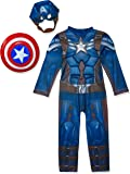 Captain America Winter Soldier Deluxe Costume for Kids - Marvel Avengers