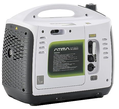 Atima Generatore Di Corrente Inverter 2000w Portatile Silenziato A 4