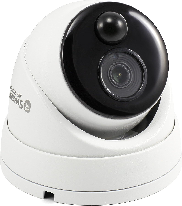 Swann Pro-5Mpmsd 5.0-Megapixel Pir Add-On Dome Camera Uninterrupted Power Supply, SCUPRO5MPMSD