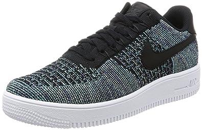 Nike Men's AF1 Ultra Flyknit Low QS, VAPOR GREEN/BLACK-WHITE, 9