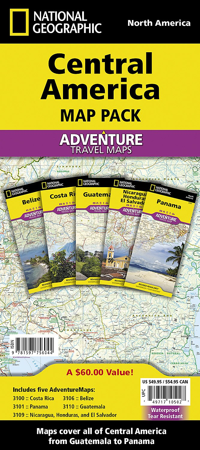 Central America National Geographic Adventure product image