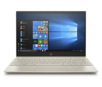 HP Envy 13-AH0051WM, 13.3in Full HD Laptop, Intel Core i5-8250U, 8GB RAM, 128GB SSD, Intel UHD 620, Windows 10 Pale-Gold (Renewed)