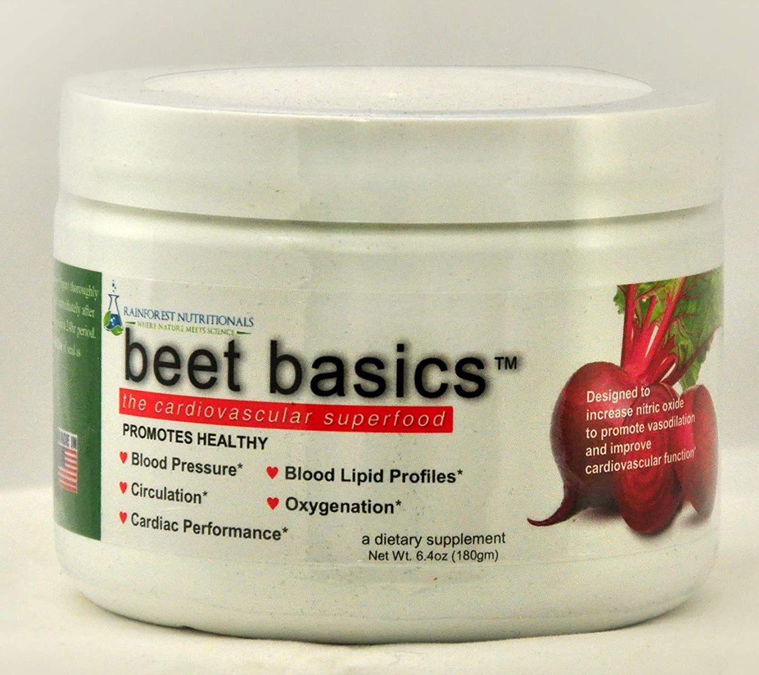 Beet Basics-The True Cardiovascular Super-Food – Nitric Oxide Booster Plus Cardiovascular and Endurance Support Supplements and Super Antioxidants