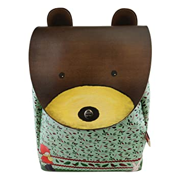 Santoro Poppi Loves - Mochila Infantil - Animal Mochila - Bear: Amazon.es: Equipaje