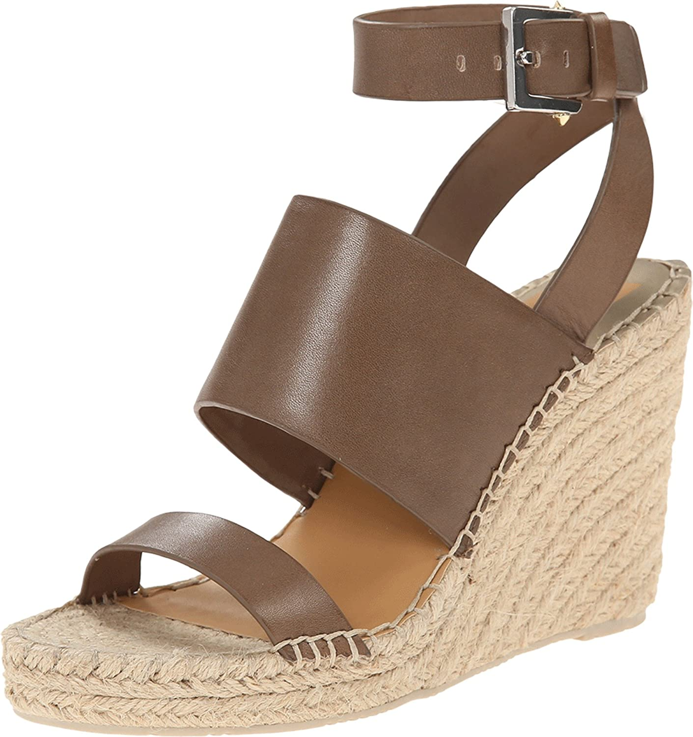 Dolce Vita Women's Nessah Espadrille Wedge B00Q6NBLJ4 9.5 B(M) US|Olive Leather