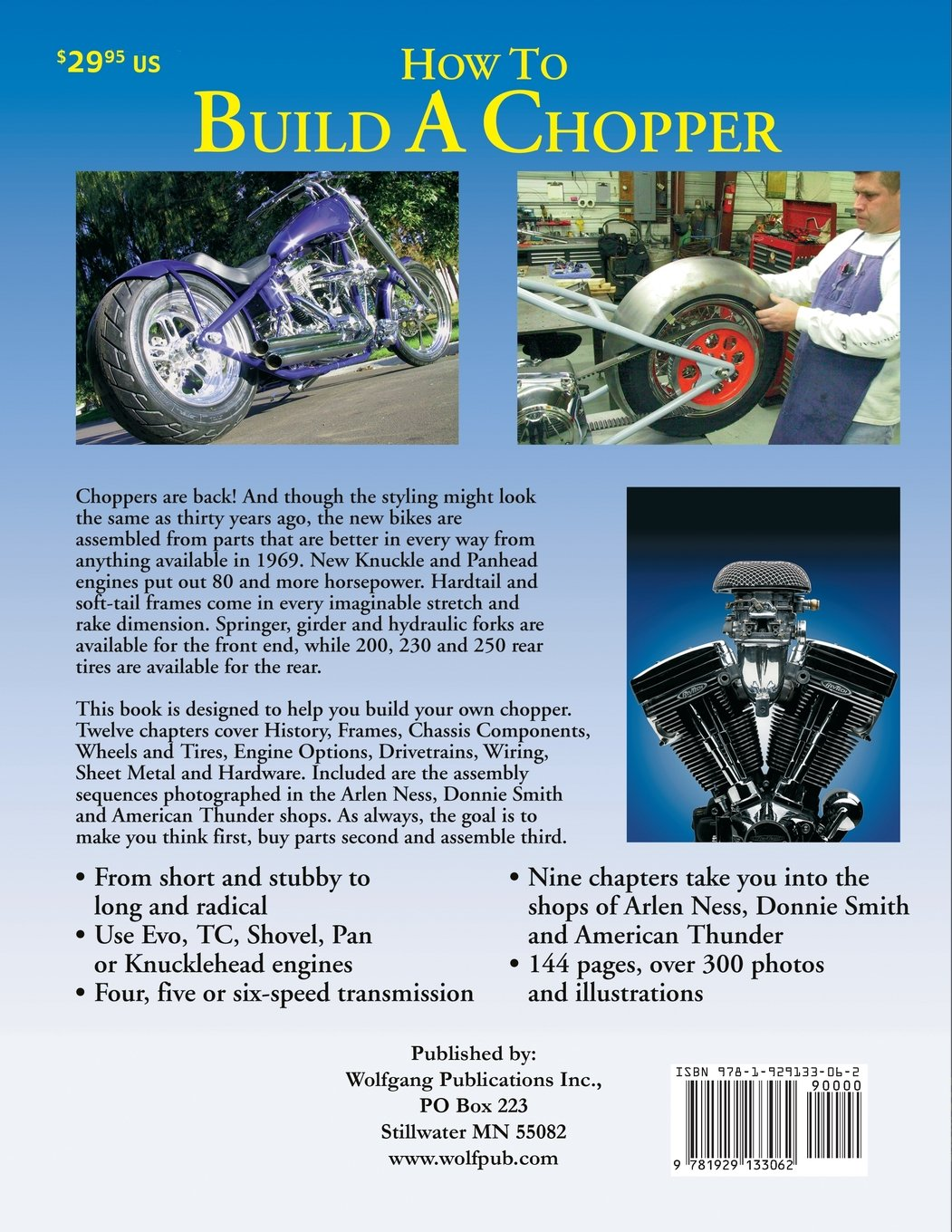 How to Build a Chopper: Timothy Remus: 0652576330656: Amazon.com: Books