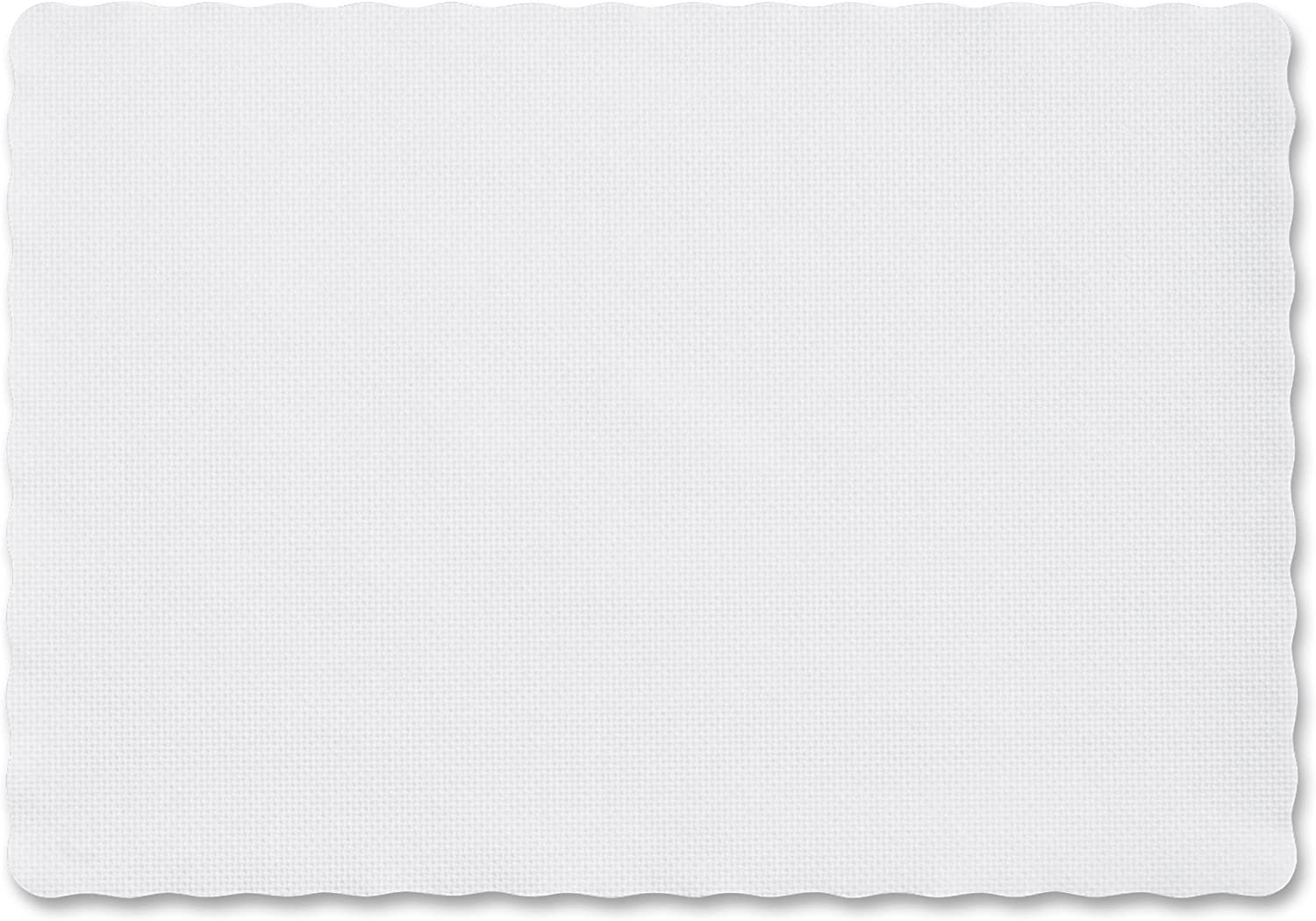 Paterson Paper Placemats Paper White Embossed 14x19 1000 Case Kitchen Dining Amazon Com