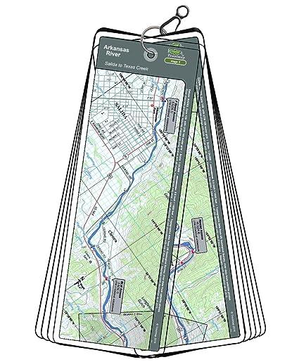 Amazon.com : Arkansas River Map Set - Colorado, Salida to ...
