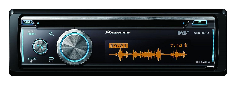 Pioneer DEH-X8700DAB | CD Autoradio mit DAB+, USB, AUX, Apple iPod/iPhone Direktsteuerung |Android Media Access | Bluetooth Freisprecheinrichtung | 200 Watt