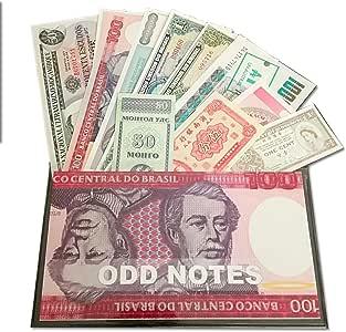 IMPACTO COLECCIONABLES Billetes del Mundo Colección de Billetes - Los 11 Billetes más extraños del Mundo: Amazon.es: Juguetes y juegos