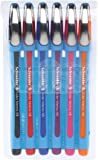 Schneider Slider Memo XB Kugelschreiber (mit Kappe, Strichstärke: XB, Schreibfarbe: sortiert, Made in Germany) 6er Etui