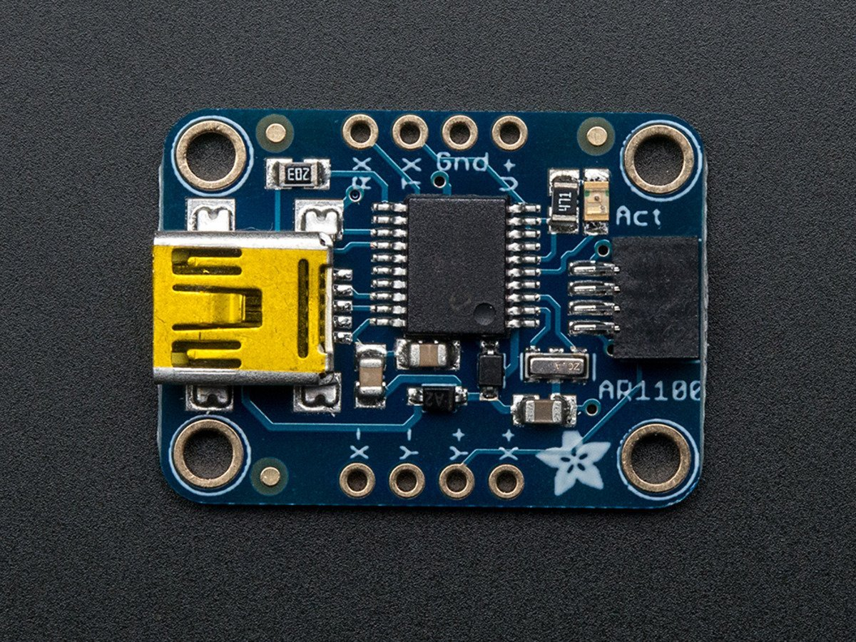 Adafruit Resistive Touch Screen to USB Mouse Controller - AR