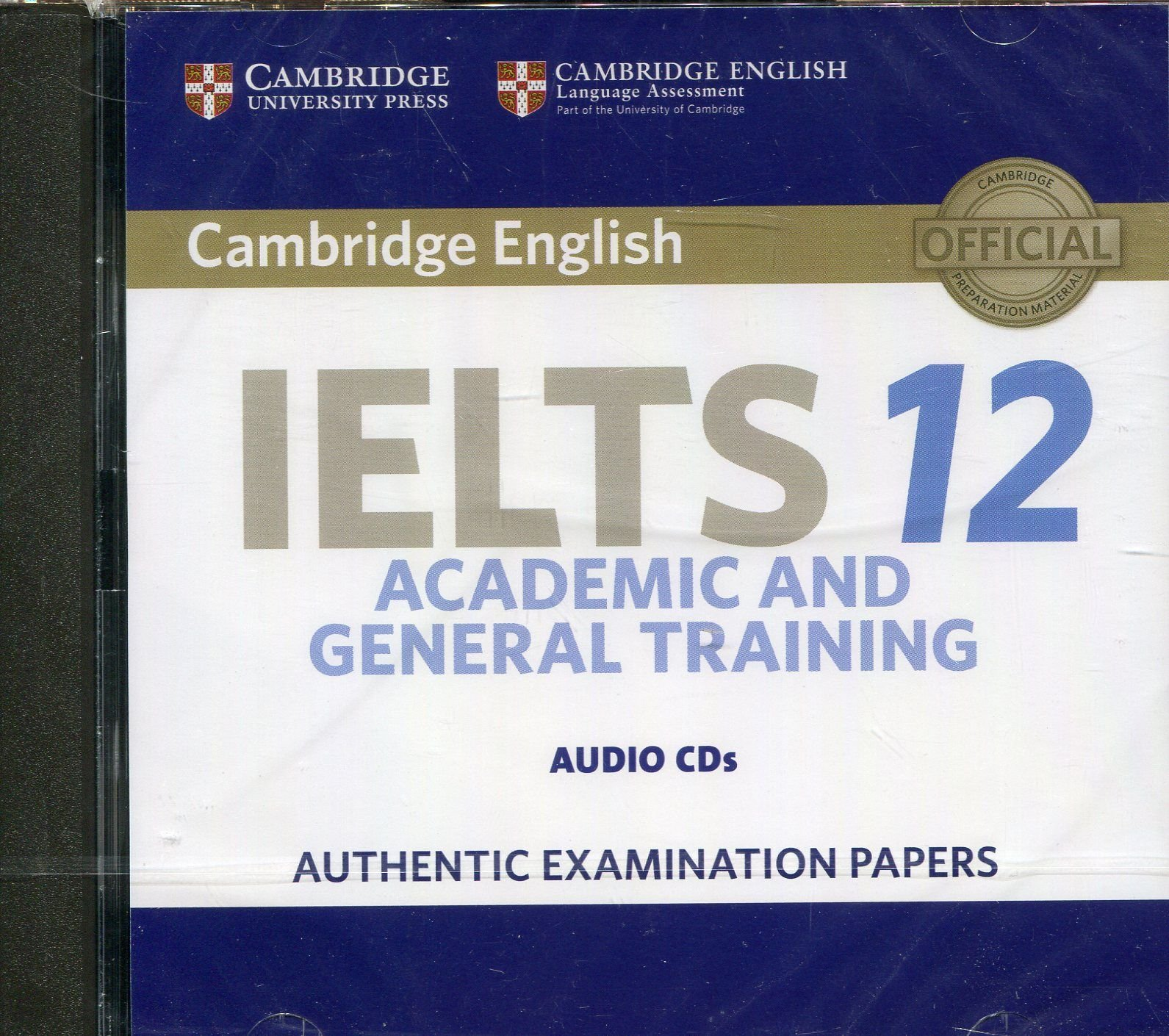 Cambridge IELTS 12 Audio CDs (2): Authentic Examination Papers (IELTS Practice Tests) by Cambridge English