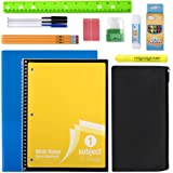 20 Piece School Supplies for K-12 Kids – Back to School Essentials Kit Bundle Supply Pack for Boys and Girls