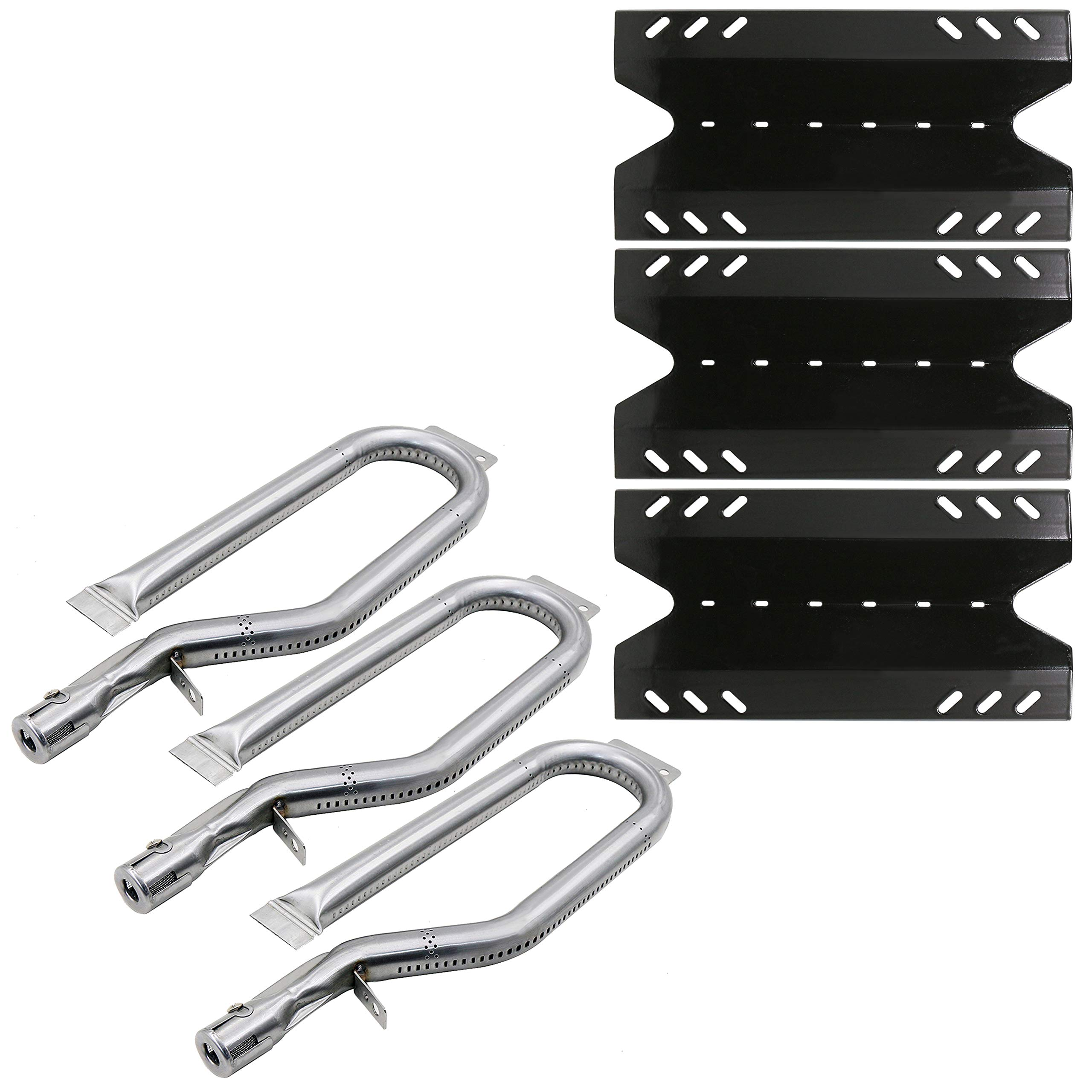 Stainless Steel Heat Plate with Gas Burner Tube for Outdoor Gourmet Grill Parts