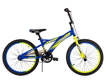 Boys 20 Inch Bike >> Amazon Com 20 Huffy Shockwave Boys Bike Sports Outdoors