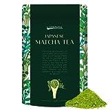 Matcha Té Verde - DE KYOTO JAPÓN - Bolsa de 50 g - Hacer té, batido, postres, batidos y hornear - La mejor calidad para una vida saludable, Vegana amistosa y pérdida de peso - Por Heapwell Superfoods UK - Precio de Lanzamiento