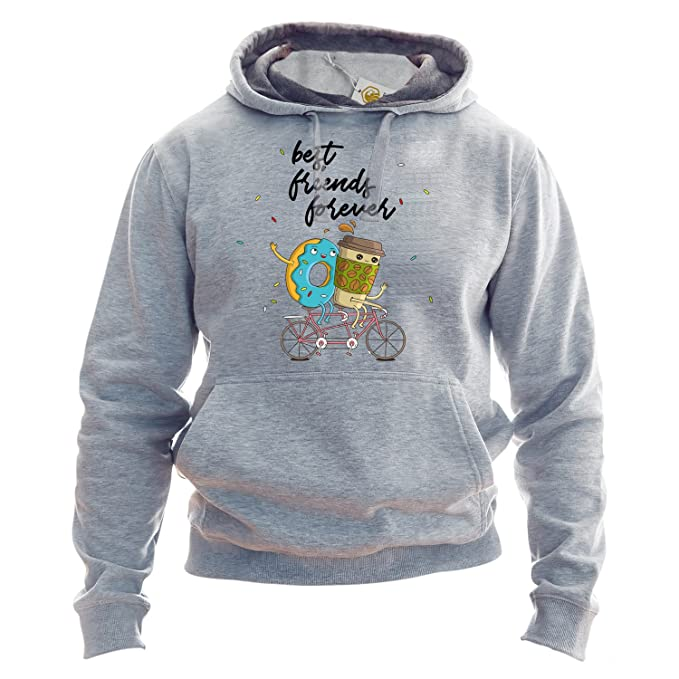 Best Friends Forever Sudadera con Capucha Coffee and Donut Hoodie BFF Outfit BFF Sudadera con Capucha BFF Matching Hooded Sweatshirt Sudadera: Amazon.es: ...