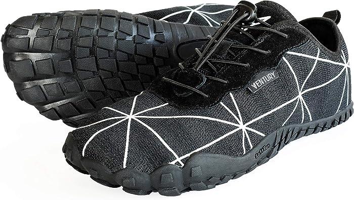 Zapatillas Deportivas Ventury Zero Barefoot Trail: Calzado Minimalista con Punta Ancha y Suela Zero Drop para Hombres y Mujeres: para Excursionismo, Trotar, Hacer Gimnasia y Caminatas: Amazon.es: Zapatos y complementos